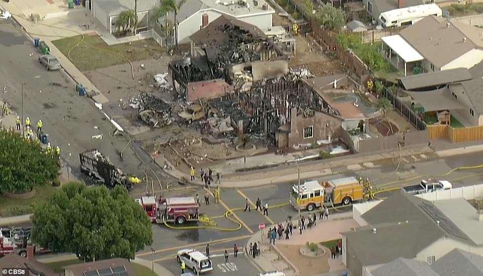 , Plane crashes near San Diego area high school as witnesses report large plumes of smoke, Nzuchi Times National News