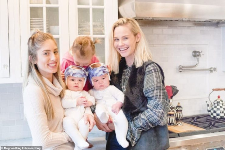 Meghan had previously gushed over Nanny Carly on her blog for her help with her three children