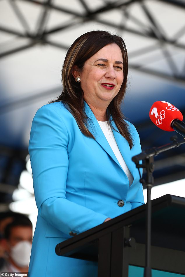 PremierAnnastacia Palaszczuk (pictured) told parliament her government was finding new ways to boost vaccination rates as the state hit the 70 per cent single-dose mark on Monday