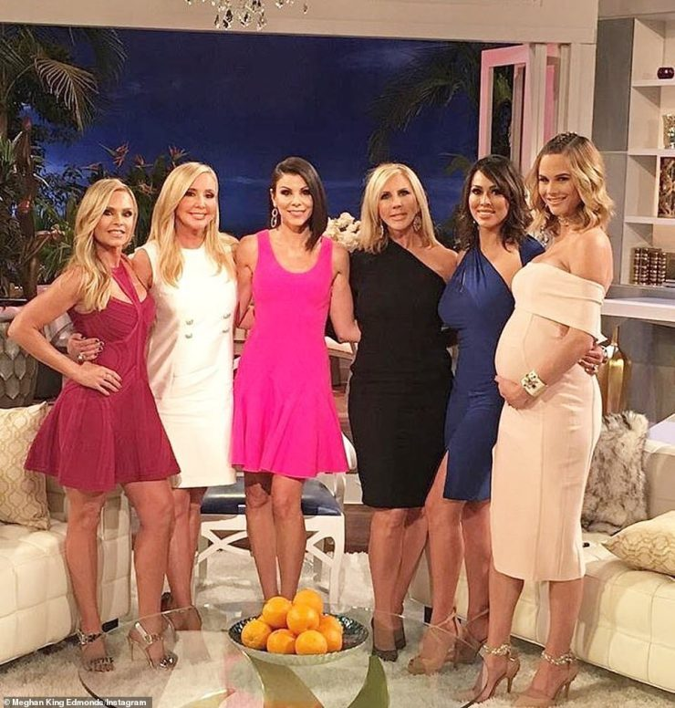 Meghan starred on season 10 of the Real Housewives of Orange County before hanging up her reality hat in season 12