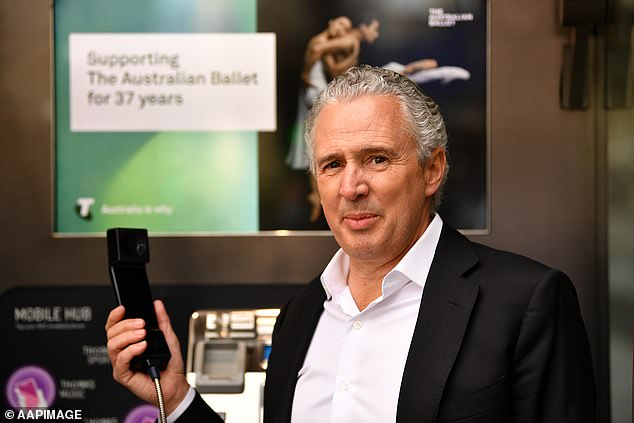 Telstra CEO Andy Penn (pictured) had his pay packet of about $5m approved by investors at the AGM on Tuesday at which chairman John Mullen said staff would be allowed to work from home after the Covid-19 pandemic