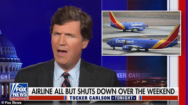 , Tucker Carlson claims Southwest chaos due to pilots and air traffic control protesting vaccine order, Nzuchi Times National News