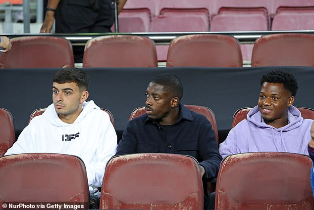 Dembele has struggled with injuries, having played for Barcelona 118 times in just four years