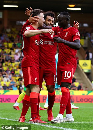 Klopp is looking to refresh his attacking options which include Mohamed Salah, Sadio Mane, Roberto Firmino and Diogo Jota.