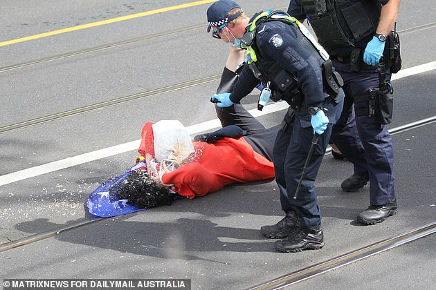 , Elderly woman capsicum-sprayed by cops at Melbourne protests refuses to assist police probe, The Today News USA