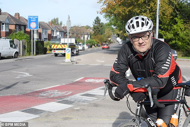 Mr MacRae said:'It¿s got to be one of the smallest cycle tracks in the world'