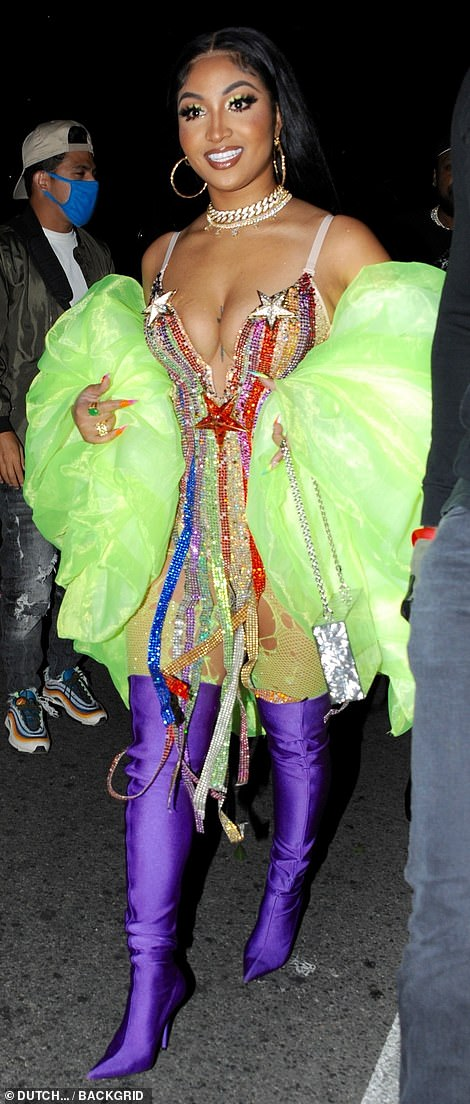 , Cardi B puts on an eye-popping display in chain and leather bra at her 29th birthday celebrations, The Habari News New York