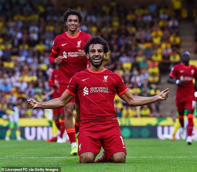 Egypt international Salah tops Premier League scoring charts amid talk of a new contract