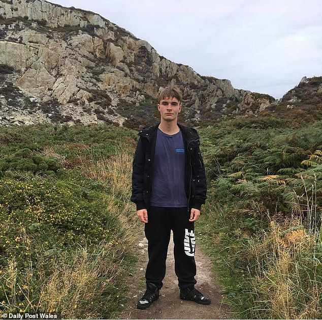 Frantisek 'Frankie' Morris, 18, from Llandegfan, Anglesey, who went missing on 2 May 2021