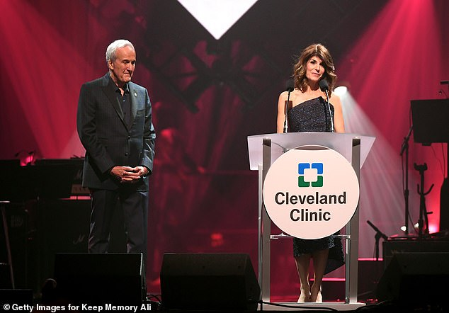 The Power of Love gala will raise much-needed funds to continue its mission to support Cleveland Clinic Lou Ruvo Center for Brain Health in providing services. Pictured: Larry Ruvo and Camille Ruvo at the Power of Love Gala for the Cleveland Clinic last year