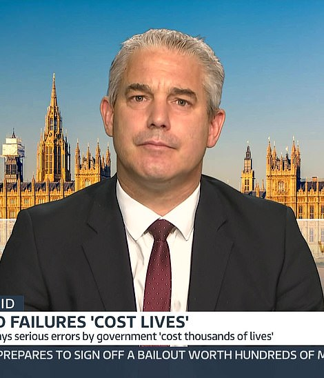 Minister Stephen Barclay refused to apologise 11 times for the Government's failures at the start of the pandemic when he was on Sky News today