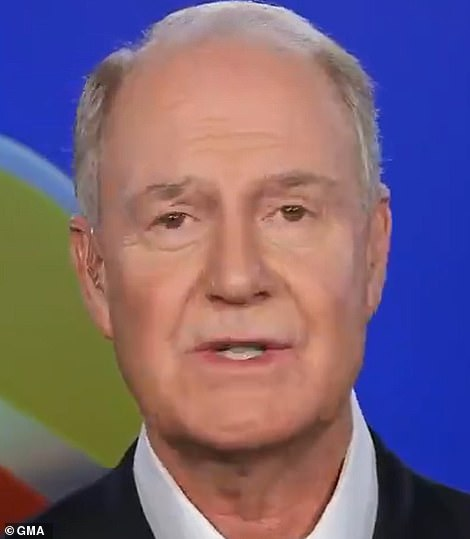 Southwest CEO Gary Kelly apologized to frustrated passengers during an appearance on Good Morning America on Tuesday, though he denied that the chaos was caused by pilots upset over the vaccine mandate