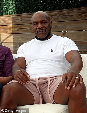 Tyson, now 55, tweeted his approval of a horrific clash in Las Vegas