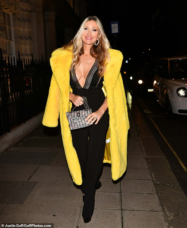 , Caprice Bourret, 49, goes braless in a racy plunging jumpsuit, The Today News USA