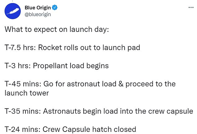 , Blue Origin's New Shepard rocket is CLEARED for launch today, The Today News USA