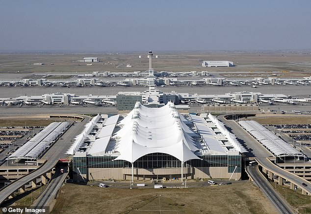 The incident took place during the early hours of Sunday, September 19, at Denver International Airport, outside the terminal's Gate A-37, according to the Denver police
