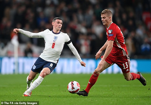 Unlike Saturday's showing in Andorra, Foden found the going very tough against Hungary