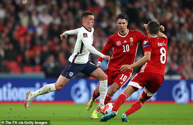 Phil Foden set up the equaliser when his free kick was turned in by John Stones at the far post