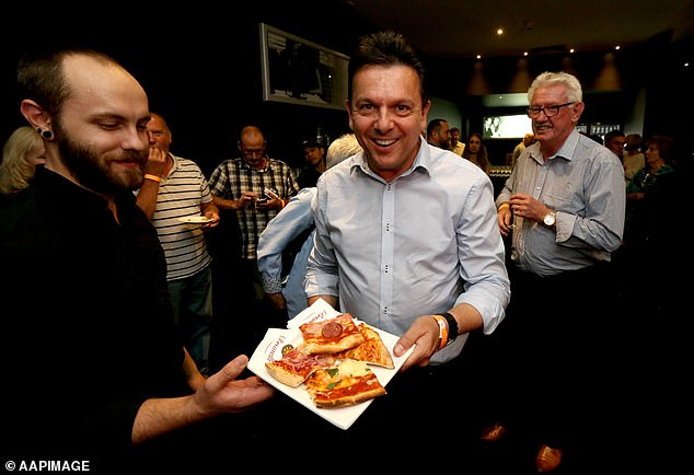 Political maverick Nick Xenophon (pictured in 2018) is eyeing a return to politics at the next election