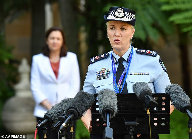 Katarina Carroll, the state's first-ever female police commissioner, announced on September 2 that all staff would be required to have a first dose by October 4 and be fully vaccinated by January 23