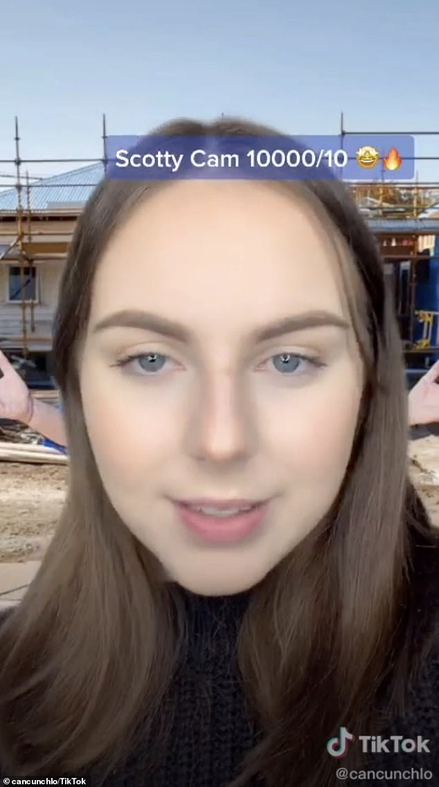 Encounters: An Aussie waitress and TikTok personality (pictured) has rated local celebrities out of 10 based on how they treat hospitality workers