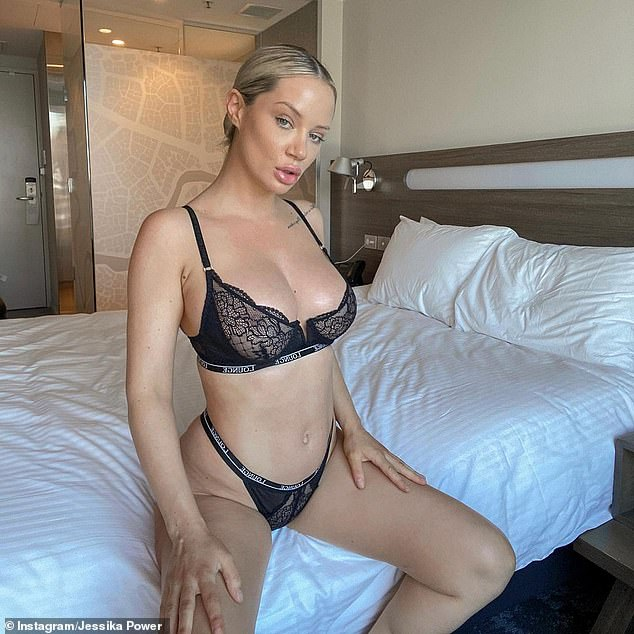 The real Jess! Married At First Sight'sJessika Power, 30, (pictured) revealed a glimpse at just how different she looked before undergoing lip filler injections on Wednesday. Pictured in 2021