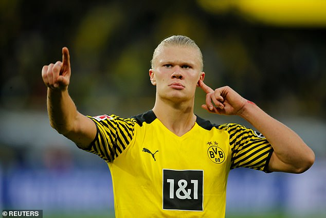 Manchester City are set to step up efforts to sign Erling Haaland from Borussia Dortmund