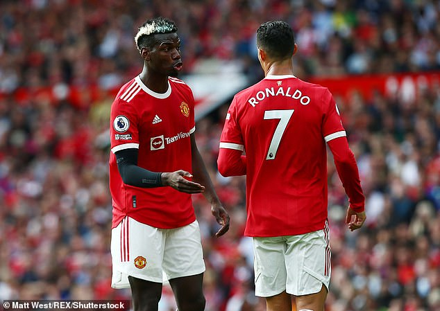 Pogba's contract at Manchester United expires at the end of the season so he could go for free
