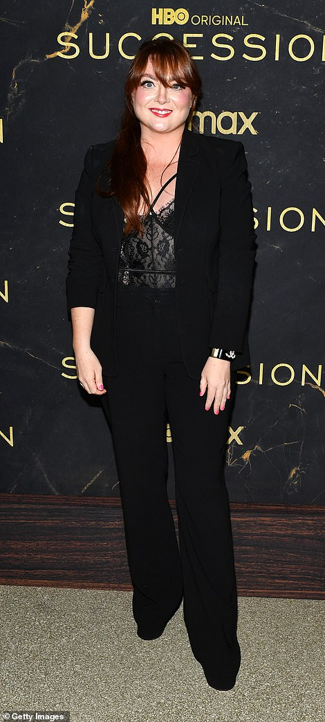 Fran Lebowitz sported her signature style, while Samantha Berry appealed to recent trends by rocking a lacy bustier top layered beneath a fitted black blazer