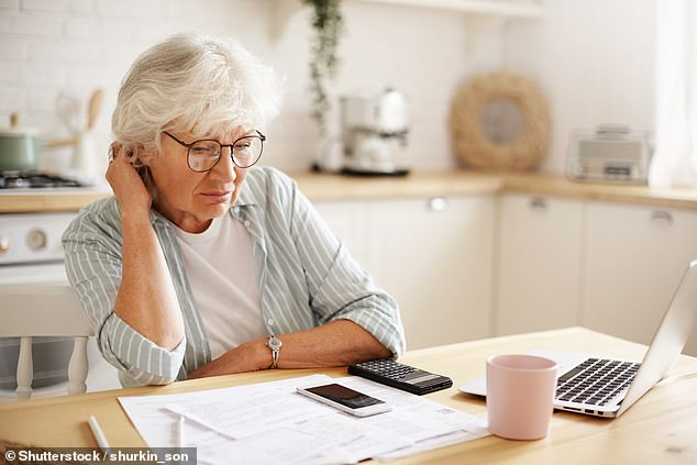 By making four voluntary contribution payments, this reader can increase their pension by up to £178.42 per week (picture rendered by model)
