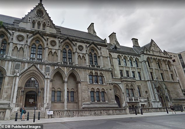 Central London County Court, where Judge Lawrence Cohen awarded Mrs Pilcher £12,000 after being the victim of harassment by Mrs Williams, who was also ordered to pay hundreds of thousands of pounds in legal fees