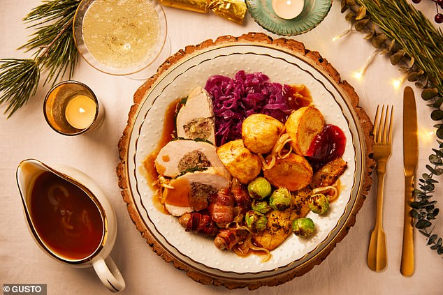 This year, recipe box Gousto is offering the antidote to Christmas cookery stress: a full Christmas dinner with all the trimmings, prepared and on the table in an hour. Plus, it's all delivered to the doorstep. Gousto has revealed the following details of its meat and plant-based Christmas dinners to get the taste buds twitching.