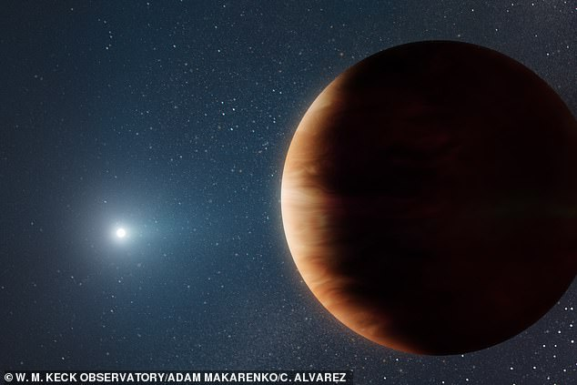 , Huge Jupiter-sized planet is discovered orbiting a dead star, The Today News USA