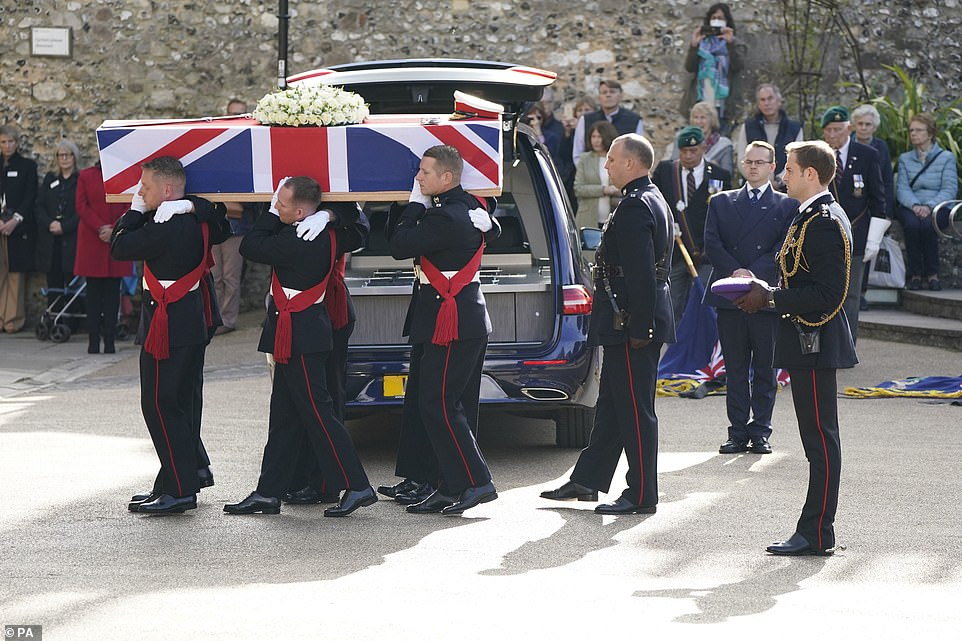, British military officials gather for funeral of Royal Marines general Major General Matthew Holmes, The Today News USA