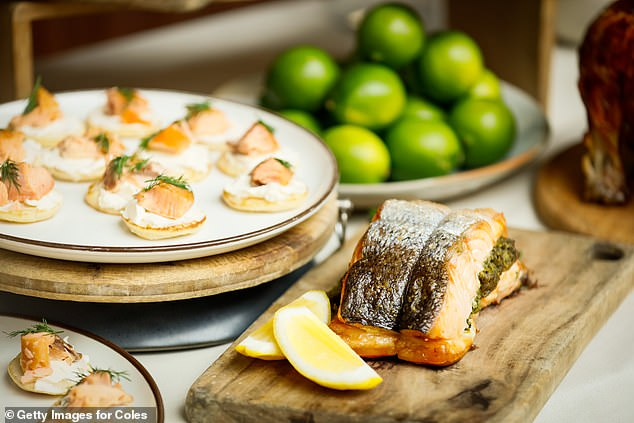 Coles' smoked salmon can be bought hot and ready to eat this Christmas as part of its new range