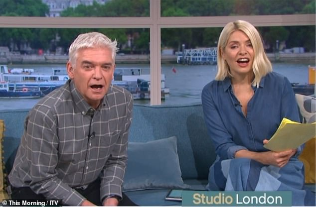 , Holly Willoughby can't control her laughter as This Morning descends into chaos due to toilet joke, The Today News USA