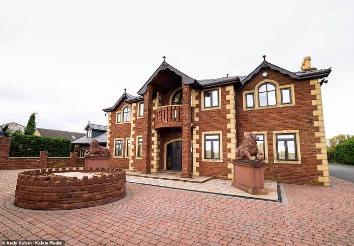 Lavish: This is Tyson Fury's new home on the Lancashire coast which he paid £1.695 million to purchase through his firm Tyson Fury Ltd.