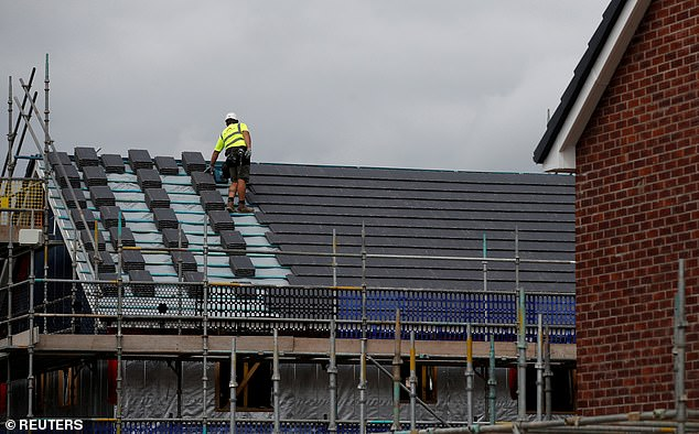 Building boom: Housebuilder Barratt said it had seen 'continued strength in customer demand' over the summer months