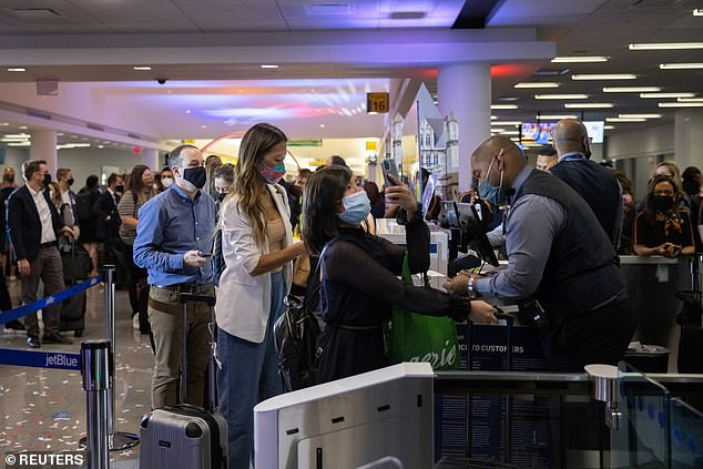 'Expect airports and flights to be more packed than ever around Thanksgiving and Christmas,' Narendra Khatri, a travel insurance company executive, told The Washington Post last month. 'This means more flight delays, cancellations and long layovers.'
