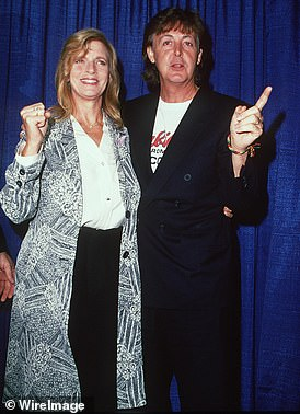 Paul with first wife Linda