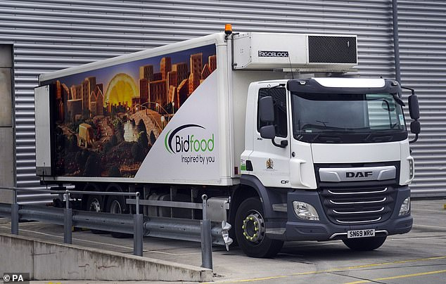 BidFood, one of the UK's largest food wholesalers, told ITV News they are experiencing 'significant pressures', including problems recruiting HGV drivers
