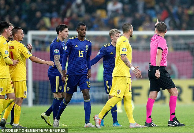 Alexander Isak was subjected to racist abuse by Romania fans back in November 2019