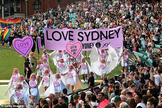 The theme for the 2022 festival, which will run from February 18 to March 6, is United We Shine (Pictured: Participants enjoying the parade inside the SCG)