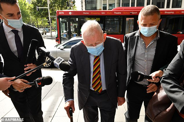 , Millionaire New Zealand investor Ron Brierley, 84, jailed in Australia over 40,000 child porn images, The Today News USA