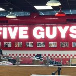 Popular social media food reviewer slams new Five Guys burger chain as a 'rip-off' 💥👩💥