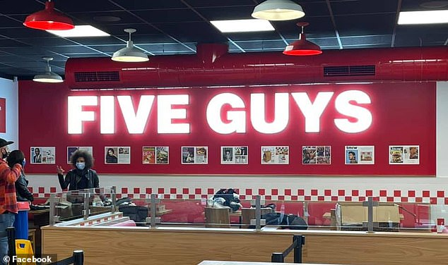 TikTok creator 'Abrakebabra_reviews' recently visited the new Five Guys burger restaurant in Penrith and posted several videos about his experience (stock image)