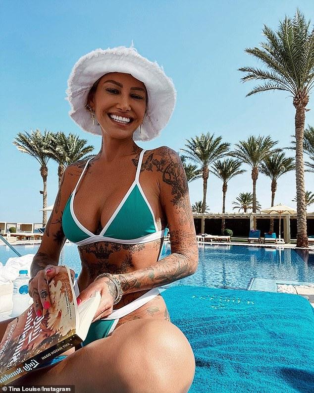 , Brian Austin Green's ex Tina Louise, 40, strips off into a TINY green bikini in Egypt, The Today News USA