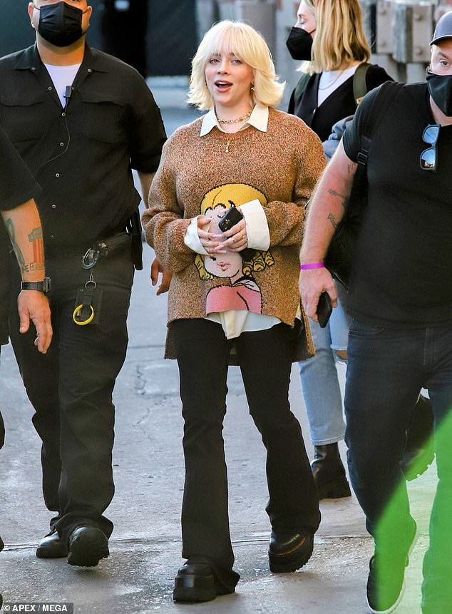Looking good! While stepping out looking like a natural beauty, the 19-year-old Grammy winner mingled with fans that were eager to catch a glimpse of her
