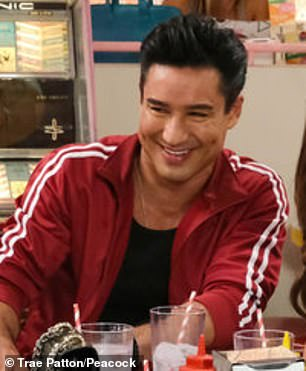Revival: Mario Lopez will once again take up the role as A.C. Slater