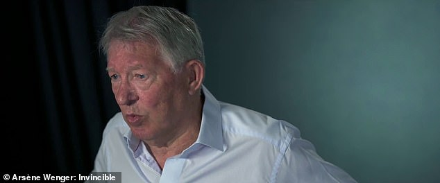 Sir Alex Ferguson also talks about his great rivaly with Wenger - likening it to 'war'